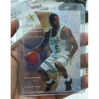 Rare 1998 Skybox EX NBA Card Ron Mercer Transparent Card