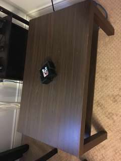 Brown ikea lack coffee table