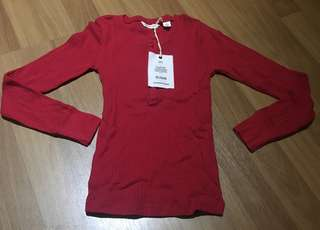 Country Road red long sleeves