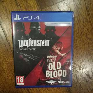 Wolfenstein The New Order And The Old Blood Ps4