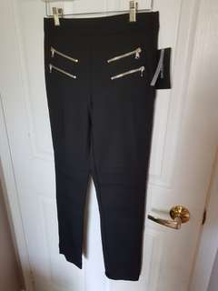 Black Zara Pants Size M - New with Tags