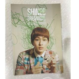 [Discount] SHINee Onew Notebook