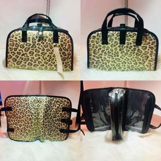 🐆豹紋化妝袋22cm Cosmetic Bag