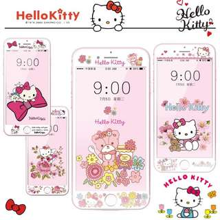 Sanrio Hello Kitty iPhone Screen Protector Tempered Glass
