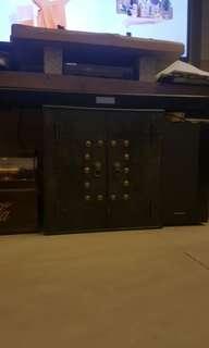 復古揭門正方櫃