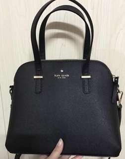 Kate Spade Crossbody 黑色十字紋手袋 Handbag