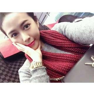 🚚 Gap保暖針織圍巾