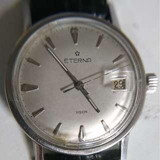 [父親節禮物] 古董瑞士綺年華 (Eterna) 上鍊男裝錶