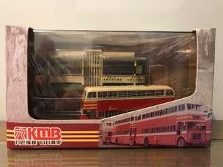 (全新未拆包膠)巴士 九巴 KMB AEC 麗晶5型 連情景套裝 路線6D