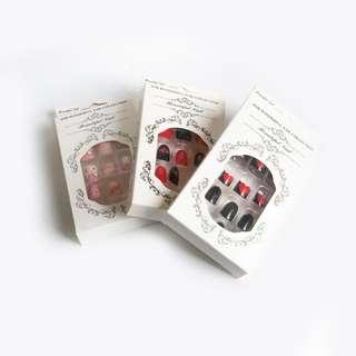 Korean Finger & Toe Artificial Nails