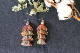 [Instock] Ivia tassel earrings