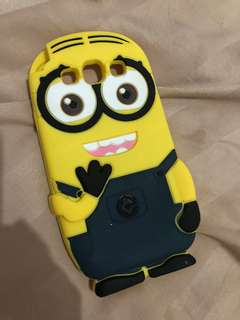NEW! minion case samsung s3