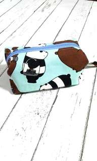 We Bare Bears Canvas Boxy Pouch