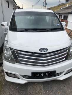 Hyundai Starex 11 seater (selfdrive in MY)