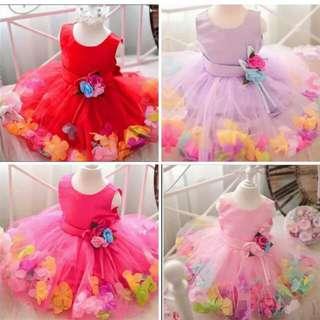 BAJU BABY DRESS BRAND NEW  UNTUK UMUR 2 tahun-12 tahun 30RM POS FREE