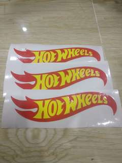 Hot Wheel Decal