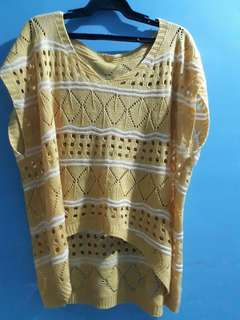 Knitted yellow