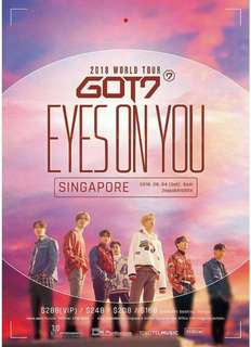 WTS GOT7 concert tickets