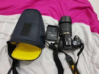 Nikon D5300 (18-105mm lens, free memory card 16GB)