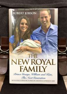 《Preloved Hardcover + Good Condition》Robert Jobson - THE NEW ROYAL FAMILY : Prince George, William and Kate, the Next Generation