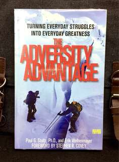 # Highly Recommended《New Book Condition + How To Make Daily Setbacks & Major Challenges Be Key Elements Of Success》Paul G. Stoltz & Erik Weihenmayer - THE ADVERSITY ADVANTAGE : Turning Everyday Struggles Into Everyday Greatness