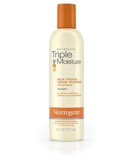 Neutrogena triple moisture silk touch leave in cream