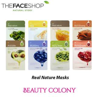 The Faceshop Real Nature Mask