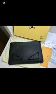 Fendi Clutch 100%Authentic
