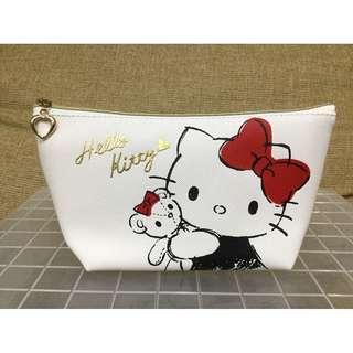 Hello Kitty 素描船型筆袋。化妝包。超商取貨免運費。