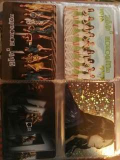 Yes Card Super Junior, GFRIEND, SNSD, EXO, CLC ETC.