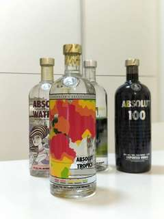 Absolute Tropics | Absolut Vodka Traveller's  Exclusive 1L