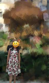 Twenty3 floral dress