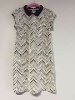 (USED) Dorothy Perkins Collared Dress (Size 6)