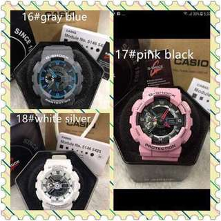 BABY G AND GSHOCK