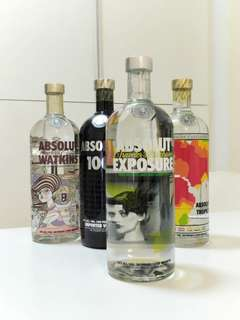 Absolut Exposure | Absolut Vodka Limited Edition 1L
