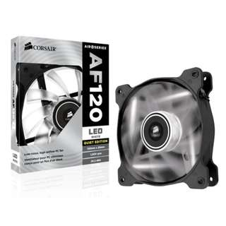 CORSAIR Air Series™ AF120 LED Quiet Edition High Airflow 120mm Fan