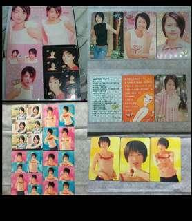 28張 GIGI 梁詠琪 yes card 閃咭&白咭&貼紙