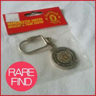🌟✳ Authentic Manchester United Keychain