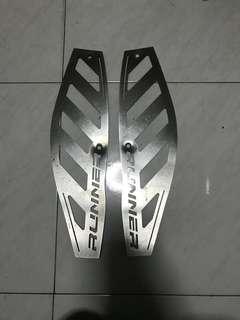 Gilera footplate
