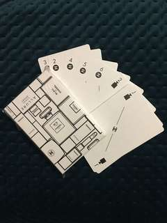 Chanel Beaute VIP Gift Deck Playing Cards