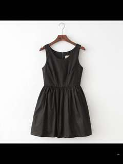 Black little a line dress
