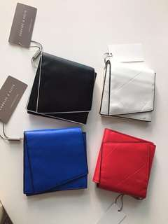 CHARLES AND KEITH Authentic Overrun Wallet