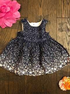 Dress baju cantik bunga-bunga flower