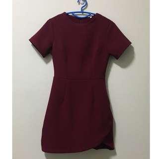 🚚 Asymmetrical Hem Dress