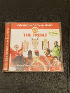 Manchester United 1999 Treble VCD