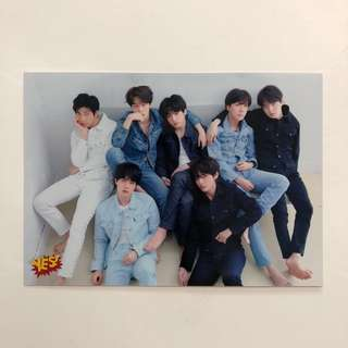 BTS Yes! Card 第36期 精品 5R相