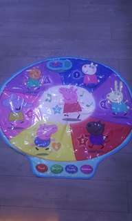 Peppa pig educational mat