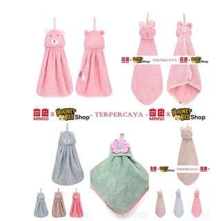 Japan Quality - Lap Tangan Handuk Tangan Miniso Import Hand Towel