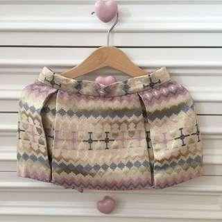 Poney Pink & Gold Skirts