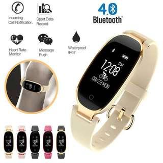 S3 Smart Watch Waterproof Fitness Tracker for Women